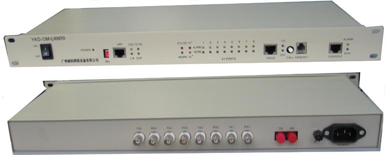 YKD-OM-LAN10 以太网光端机(10M带宽)